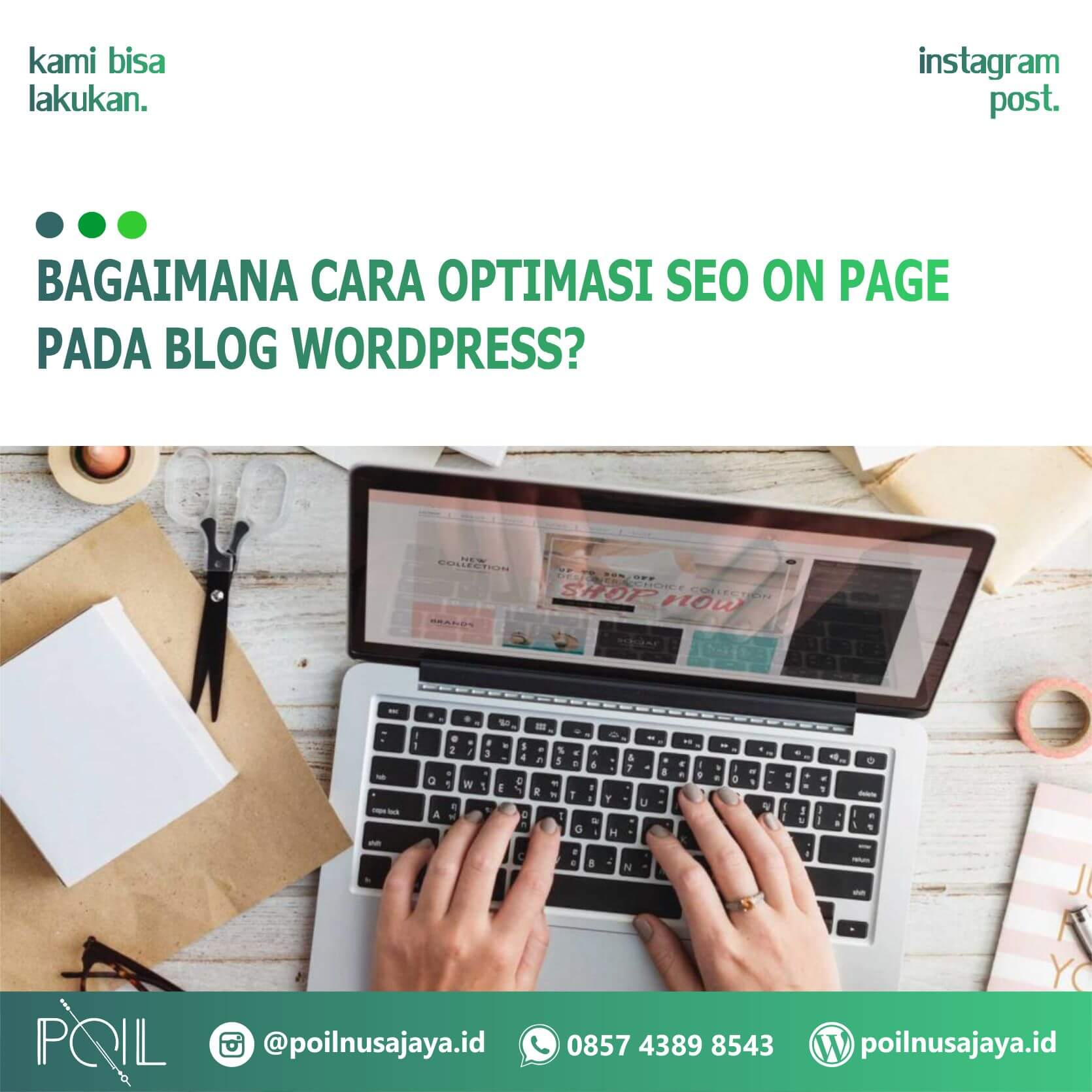 Bagaimana Cara Optimasi SEO On Page Pada Blog WordPress